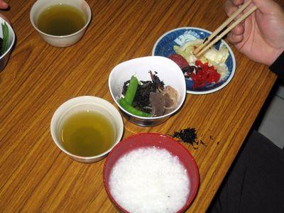 第26回 朝粥食べて、オシャベリ会(8)