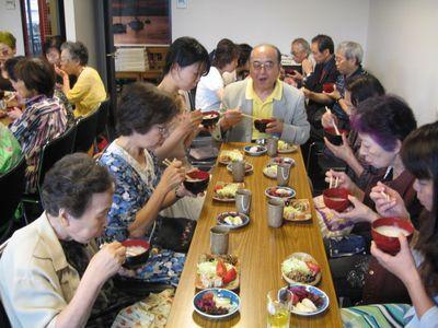 第31回 朝粥食べて、おシャベリ会(9)