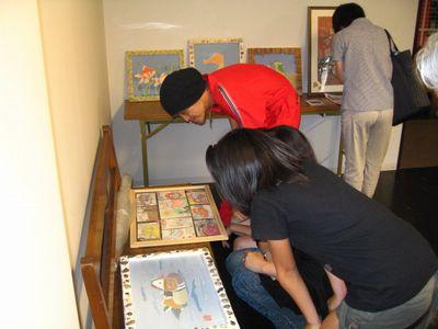 たけの世界 個展 in 集酉楽(syu-yu-raku)2009(11)