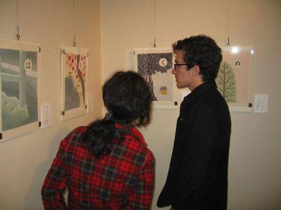 東山友禅かるた原画展(15)