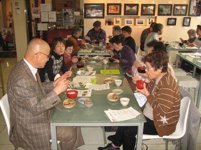 第63回 朝粥食べて、おシャベリ会(7)