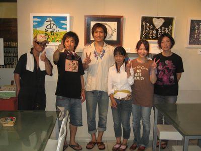 たけの世界 個展 in 集酉楽(syu-yu-raku)サカタニ 2010(7)
