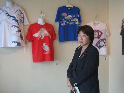 宮田昌幸の Tシャツ 染め体験教室(2)