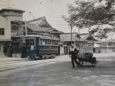 京都を走った市電・蒸気機関車 廣庭基介・福田静二◆二人展(14)