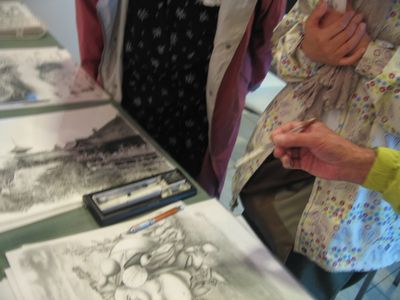 アートPIKASO個展 シャープペンシルだけで描く 仏の世界(6)