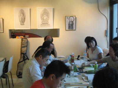 アートPIKASO個展 シャープペンシルだけで描く 仏の世界(7)