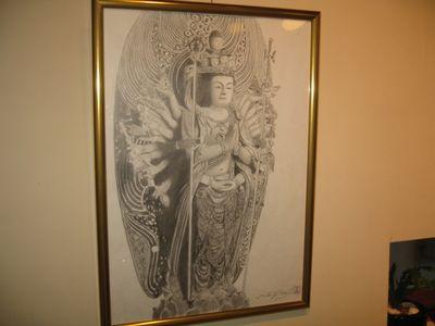 アートPIKASO個展 シャープペンシルだけで描く 仏の世界(8)