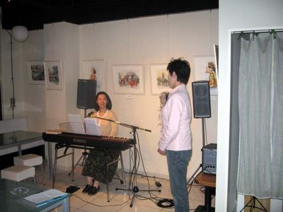 第20回 音の風「音楽茶会」(1)