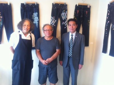 宮田昌幸のちょっと道草なTシャツとジーンズ展(9)