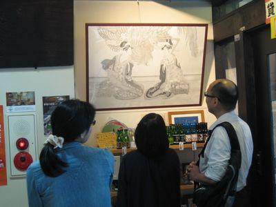 アートPIKASO展 シャープペンシルだけで描く ミツグの顔(4)