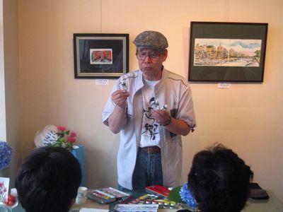 花のはがき絵 1日体験教室(4)